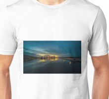 Dusk over Pula Harbour  Unisex T-Shirt