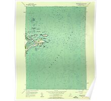 Maine USGS Historical Map Biddeford Pool 806512 1956 24000 Poster