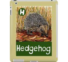 H is for Hedgehog iPad Case/Skin