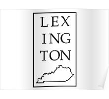 Lexington, Kentucky Poster
