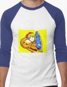 We can do it! Men's Baseball ¾ T-Shirt