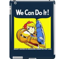 We can do it! iPad Case/Skin
