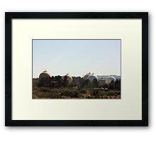 Shell Martinez Refinery  Framed Print
