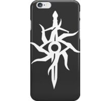 Symbol of the Inquisition (White Variant) iPhone Case/Skin