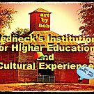 """Artbybob Redneck's Institution for Higher Education and Cultural Experience""... prints and products by © Bob Hall"