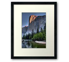 Sunrise on El Capitan Framed Print