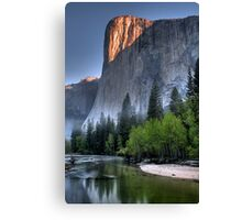 Sunrise on El Capitan Canvas Print