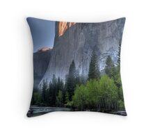 Sunrise on El Capitan Throw Pillow