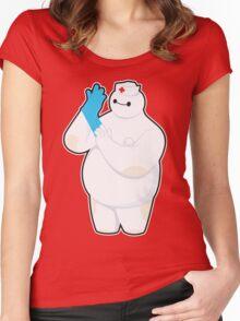 Robotic Nurse Women's Fitted Scoop T-Shirt