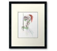 Gardevoir Warrior Framed Print
