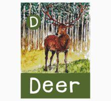 D is for Deer by DavidDonovan