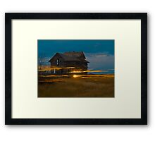 Palace Lights Framed Print