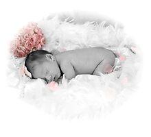 Baby Sleeping Photographic Print