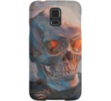 Skull Oil Painting Samsung Galaxy Case/Skin