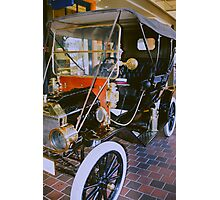 1910 Ford Cab.  Photographic Print