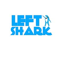 Retro Left Shark  - Super Bowl Halftime Shark 2015 Photographic Print
