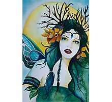 Spring Maiden faery Photographic Print