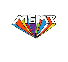 MGMT logo Photographic Print