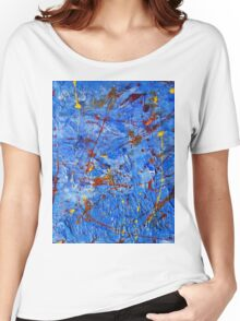 Rusty Blue-Available As Art Prints-Mugs,Cases,Duvets,T Shirts,Stickers,etc Women's Relaxed Fit T-Shirt
