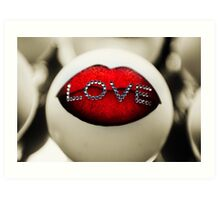 Say Love. Color. Love Project Art Print