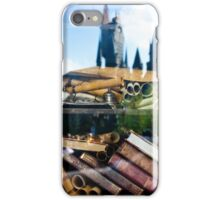 Reading at Hogsmeade iPhone Case/Skin
