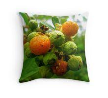Bush Buds Throw Pillow