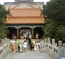 Buddhist Fragrance Hall, Summer Palace by Laurie Puglia