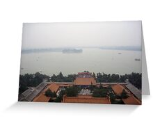 Overview of Summer Palace Greeting Card