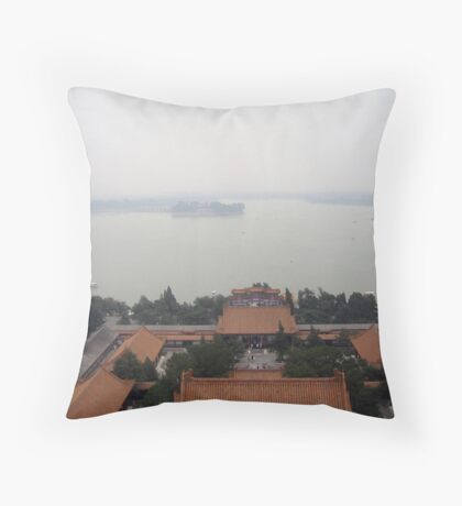 Overview of Summer Palace Throw Pillow