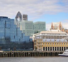 The Glass and Stone of London by DonDavisUK