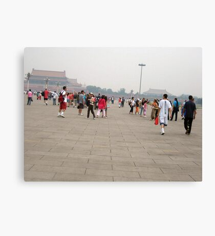 Tiananmen Square in Beijing Canvas Print