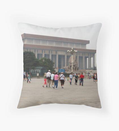 More of Tiananmen Square Throw Pillow