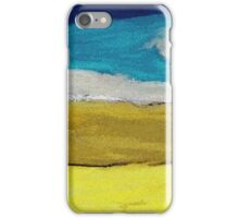 Azure and Prussian Blue of Gold and Yellow Hue iPhone Case/Skin