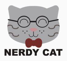 Nerdy Cat Baby Tee
