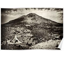Mycenae Mountain Poster