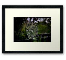 """Vacant"" Framed Print"
