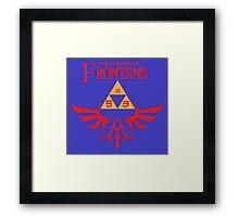 The Legend of Frontend Framed Print
