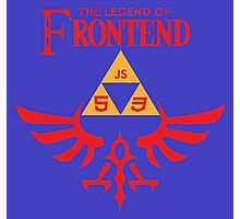 The Legend of Frontend Photographic Print