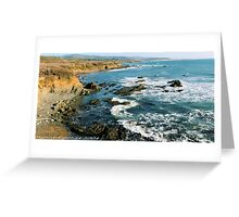 #563  California Coastline Greeting Card