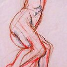 life drawing 6 by Rowi