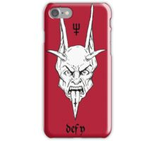 Devil Red Version iPhone Case/Skin