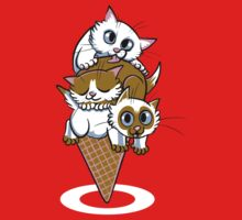 Kitten Cone Kids Tee