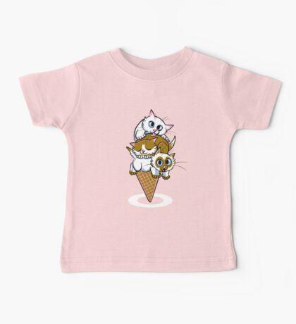 Kitten Cone Baby Tee