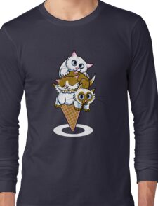 Kitten Cone Long Sleeve T-Shirt