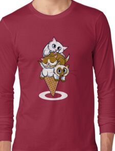 Kitten Cone Long Sleeve T-Shirt