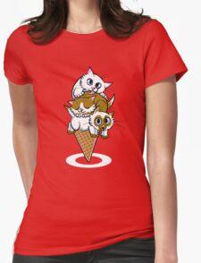 Kitten Cone Womens T-Shirt
