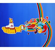 beatles: yellow submarine Photographic Print