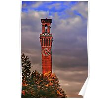 Clock Tower - Waterbury, Connecticut Poster