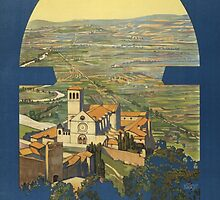 Assisi (Reproduction) by Roz Abellera Art Gallery