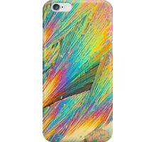 Lanthanum nitrate under the microscope  iPhone Case/Skin